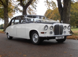 Classic wedding car hire in Southsea